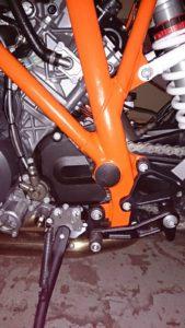 superduke frame plugs