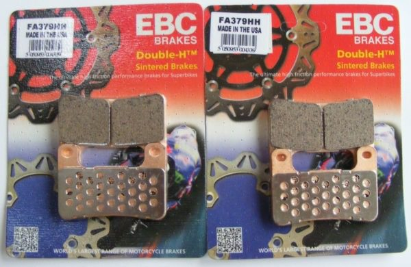 EBC Sintered HH Front & Rear Brake Pads set
