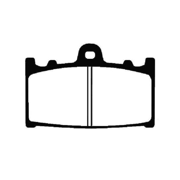EBC Sintered Front Brake Pad  EPFA158 HH EBC Extreme Pro