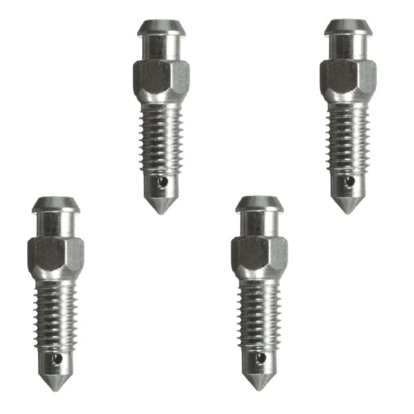 Brake Caliper Bleed Screw Nipple M7 x 1.00mm  Pack of four.