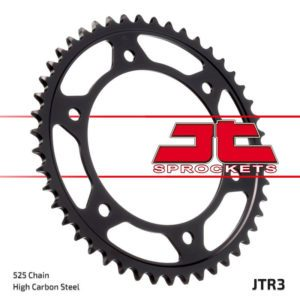 JT REAR SPROCKET 47 TOOTH 525 PITCH BLACK