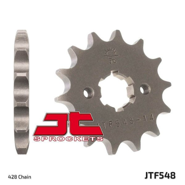 Front Sprocket 428 Pitch 14 Tooth JT Sprockets