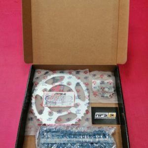 Kawasaki KX85 Small Wheel Chain & Sprocket Kit
