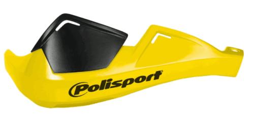 Yellow Universal Polisport MX/Enduro Hand Guards