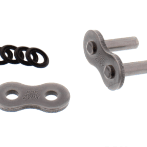 DID Silver Solid Rivet Soft Link For Motorcycle Chain 525ZVMX