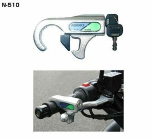 Motorcycle security Front Brake Lever Lock