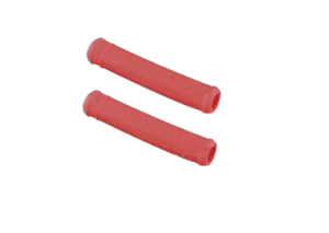 Progrip Brake/Clutch Lever Cover Rubber sleeves- red,soft grip