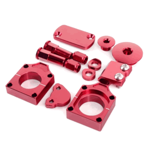 Honda CRF 250 Red Anodised Bling Kit