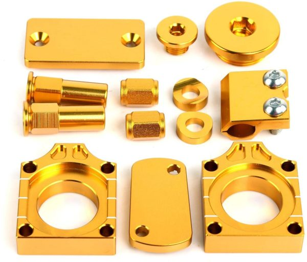 Suzuki RMZ 450 Gold Anodised Bling Kit