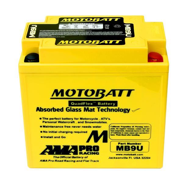 Motobatt Battery MB9U