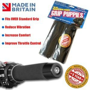 Motorcycle_comfort_foam_anti_vibration_grip_grip_puppies_Fits_all_bikes