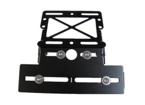 Motorcycle Taillight & Number Plate Bracket
