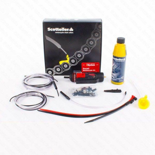 Scottoiler vSystem Ducati Multistrada chain oiler