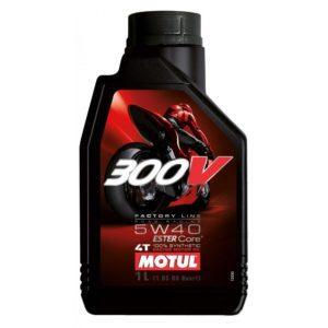 Motul 300V synthetic engine oil 5W40 4-T 1L