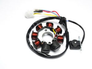 GY6 125 / 150cc moped Tourmax Stator - 8 Coils