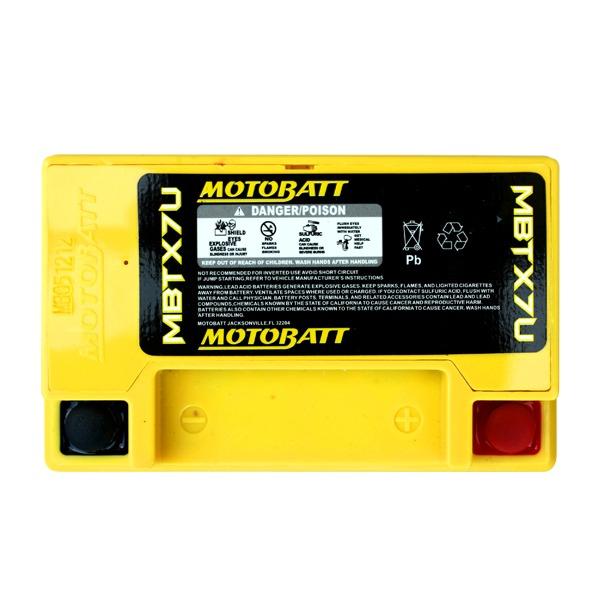 Motobatt Battery MBTX7U