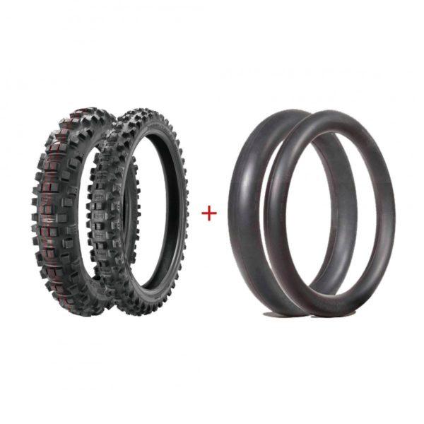 Borilli Enduro Tyres soft Pack.