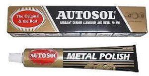 Autosol Metal Polish, Rust Remover.