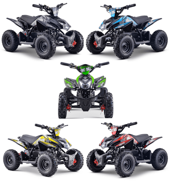 stomp electric quad bike