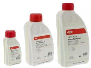 Dot 4 synthetic brake clutch fluid