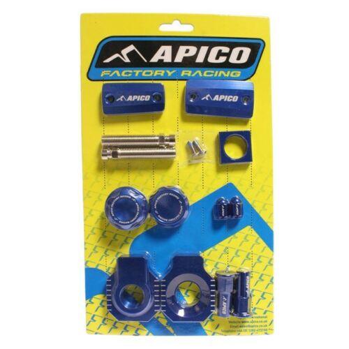 BLUE APICO FACTORY BLING PACK FOR HUSQVARNA TC/FC125-450 2018 (MAGURA BRAKE)