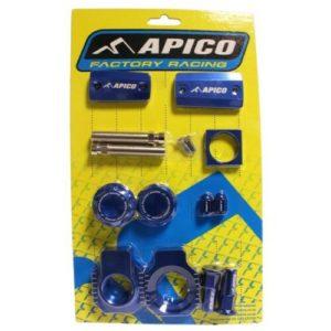 BLUE APICO FACTORY BLING PACK HUSQVARNA TX125-150 18-19 (Magura Brake)