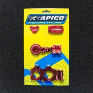 RED APICO FACTORY BLING PACK FOR HONDA CRF250R 18-19