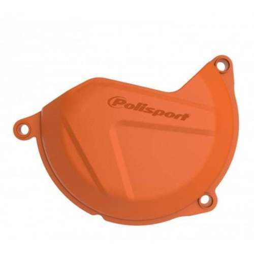 KTM 4T ORANGE POLISPORT CLUTCH COVER PROTECTOR GUARD