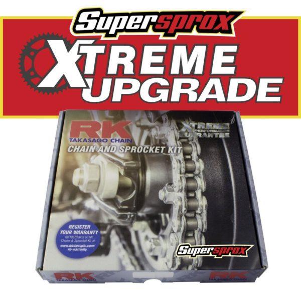 Suzuki GSXR750 chain and sprocket
