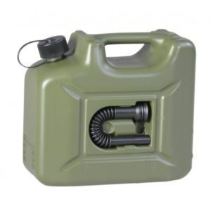 10L Fuel Canister E10 Safe Green