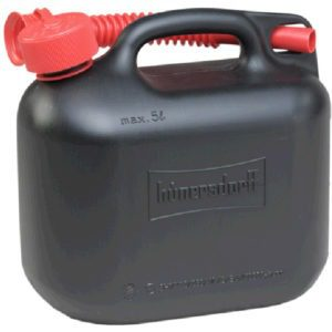 5L Fuel Can E10 Safe Petrol Canister Black