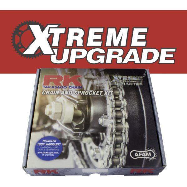 YBR125 Chain & Sprocket Kit Xtreme Upgrade Kit for Yamaha YBR125