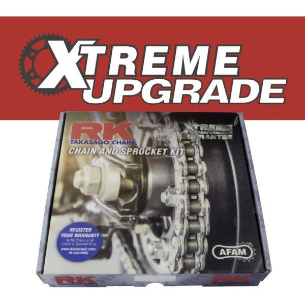 Yamaha MT125 Xtreme Chain & Sprocket Upgrade Kit.