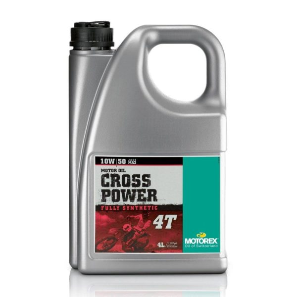 Motorex Crosspower 4T Engine Oil Fully Synthetic Pro Performance