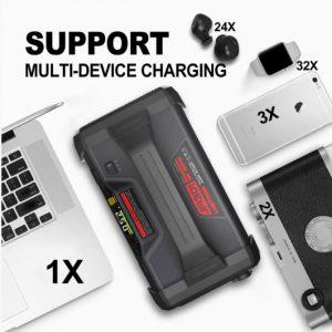 lokithor supports multiple charging