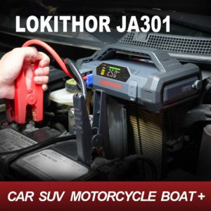 motorcycle battery booster