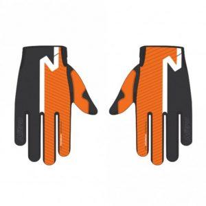 Orange offroad gloves
